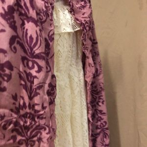 """None Accessories - Women's Long Scarf/Wrap Lilac/Purple """"OS"""" NWT"""